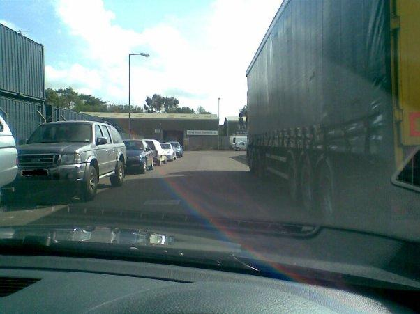 HGV Class 1 Parking School